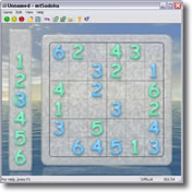 graphic about 6x6 Sudoku Printable identified as 6x6 Sudoku puzzles